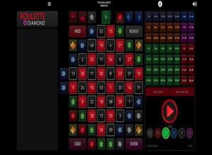 1x2Gaming Roulette Diamond