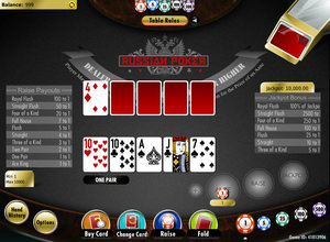 LUCKTAP Russian Poker