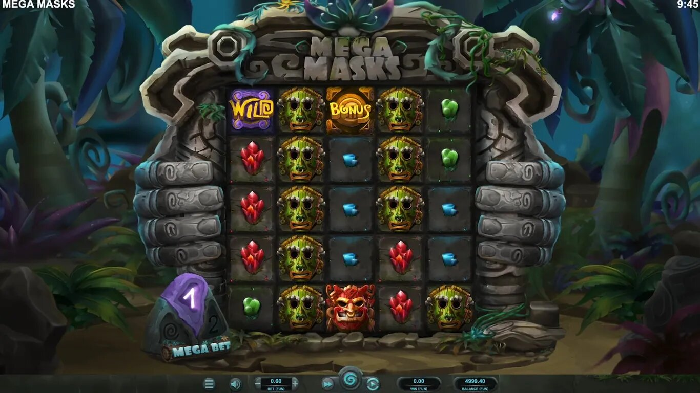 Mega Masks Relax Gaming slot online upcoming new March