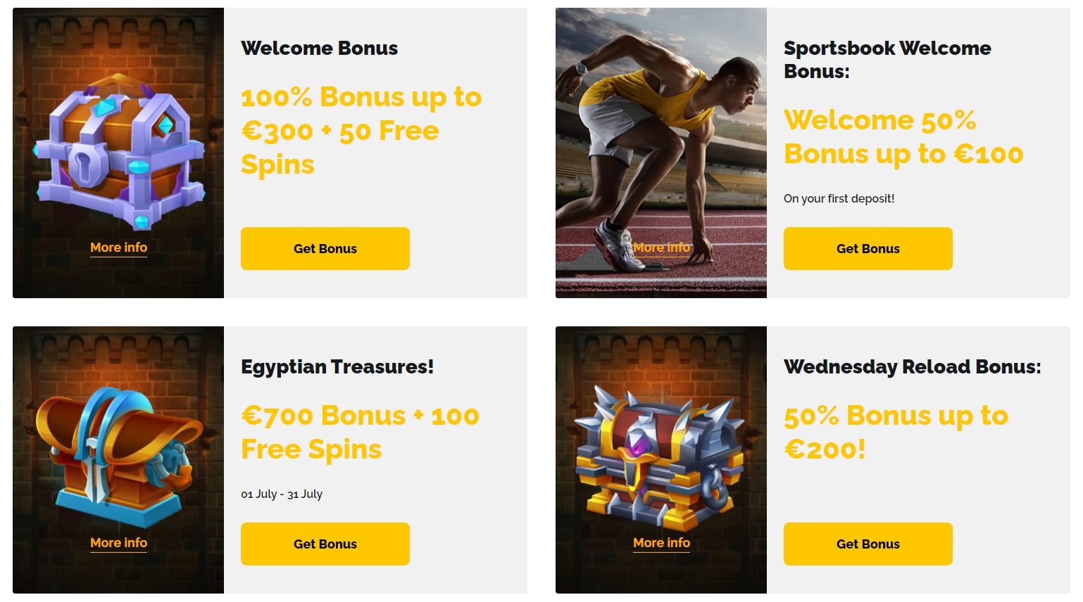 Regals Casino Welcome Bonus
