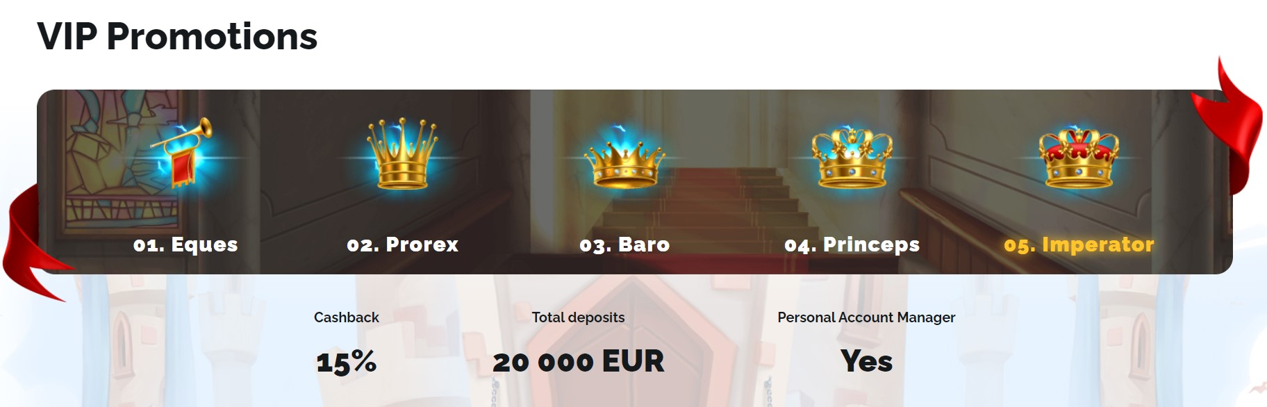 Royal Casino VIP Promotions