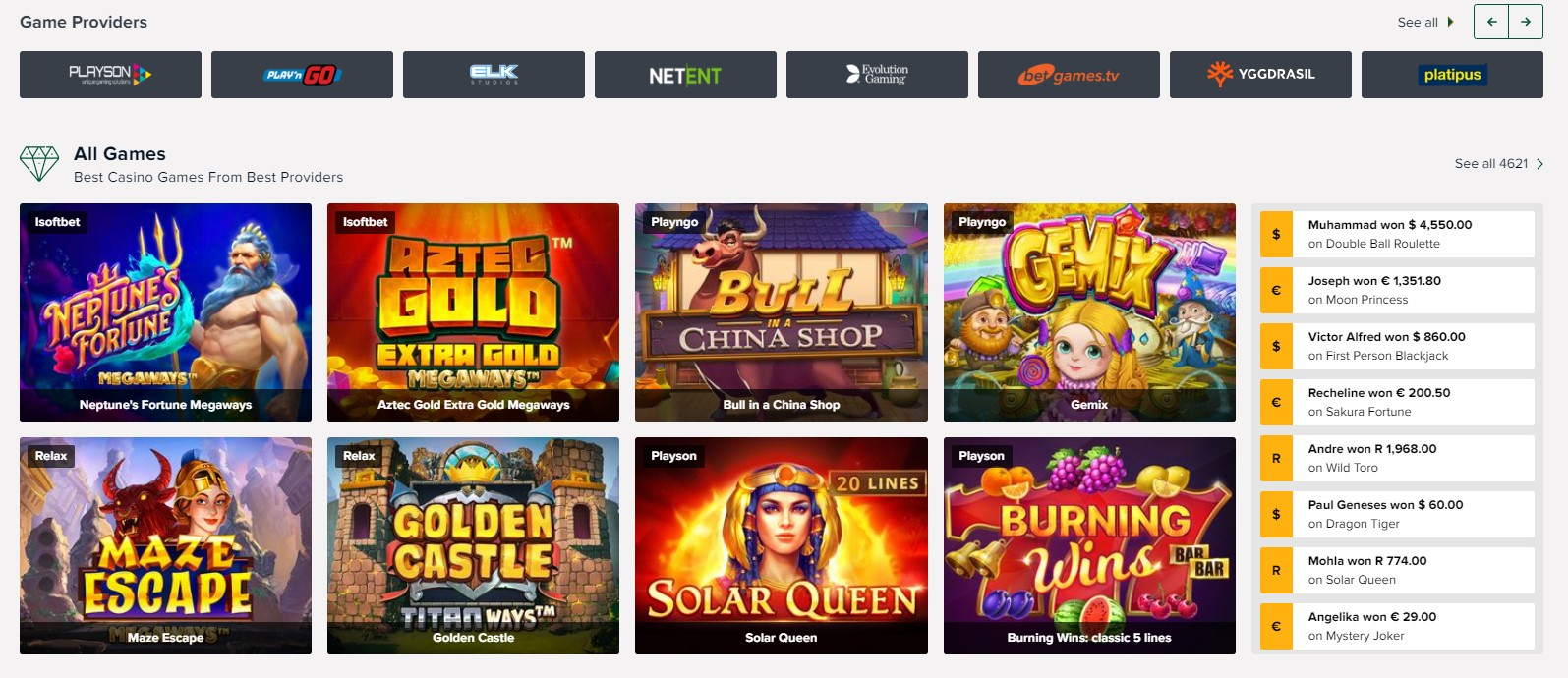 Tuck Casino Online Games Slots
