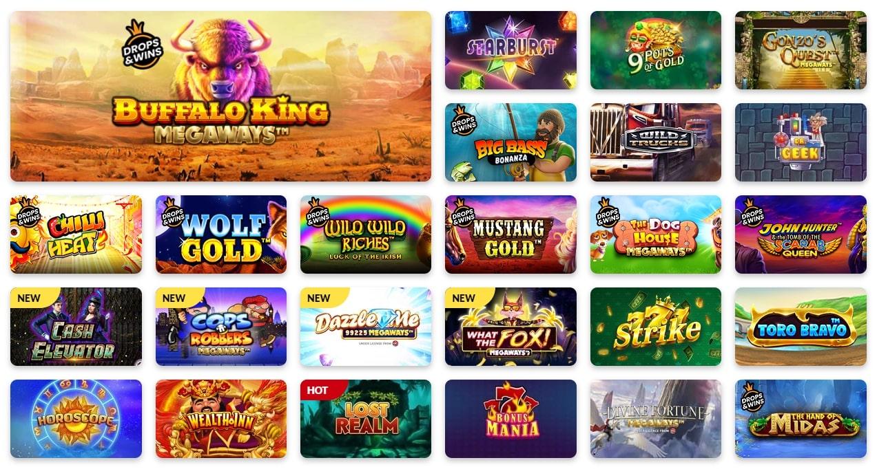 Tiger Riches Casino Games