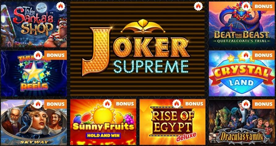 Winolla Casino Games
